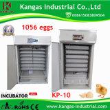 Incubateur complètement automatique certifié par CE d'oeufs de volaille
