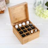 High-End Glassy Finish Humidor de boîte en bois personnalisé pour cigares