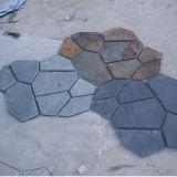 Chinese Veelkleurige Goedkoopste Natuurlijke Onregelmatige Straatsteen (smc-B020)