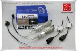 Luz del coche del LED de la viruta del CREE Xhp50 de la linterna H4 del LED