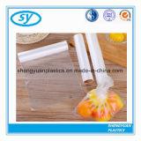 Sachets en plastique clairs transparents de fond plat pour la nourriture