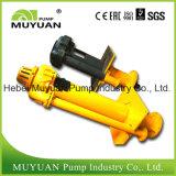 Pompa di pozzetto verticale resistente elaborare minerale di pulizia del pavimento