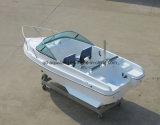 Barco de pesca dos esportes de China Aqualand 15feet 4.6m/barco da potência/barco motor da fibra de vidro (150br)