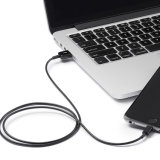 Un cable más durable del relámpago de la velocidad para el iPhone