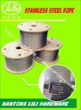 Câble métallique (acier inoxydable) Corde en acier inoxydable de la corde de fils en acier inoxydable