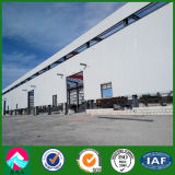 China-niedrige Kosten-vorfabrizierte bewegliche industrielle strukturelle Stahlwerkstatt