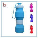 Силиконовый чехол для установки вне помещений складная спорта бутылка воды бисфенол-А