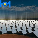 Arco de 3,2 mm Ultra Clear Templado de Vidrio solar con una alta ganancia de energía