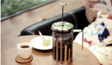 POT francese di vetro della pressa del caffè di resistenza termica per il grossista