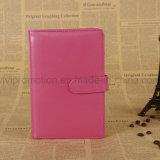 Notebook de capa de couro PU de alta qualidade com fecho magnético (PUN405)