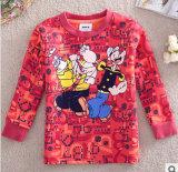 2014 Le printemps et automne en coton épais T-Shirt à manches longues