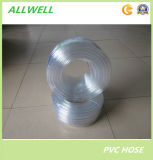 Manguito llano transparente claro flexible plástico del tubo del agua del PVC