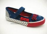 印刷されたOutsole (ET-OW160195K)の2017のばねの子供の靴