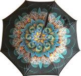 C-Griff 2017 23 Zoll gedreht Regenschirm-für Förderung