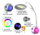De draagbare Schemerlamp Bluetooth Speaker van Rechargeable LED met USB/TF Card