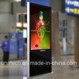 infrarouge 42inch restant l'étalage de publicité visuel libre d'affichage à cristaux liquides éclairé à contre-jour par DEL