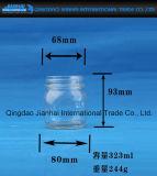 Vaso di vetro libero del commestibile per ostruzione ed i sottaceti