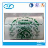 Sachet en plastique transparent de catégorie comestible de HDPE/LDPE