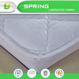 Protector acolchado hipoalérgico del colchón de las materias textiles caseras