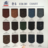Colorear los azulejos de acero cubiertos arena para el material para techos de la casa