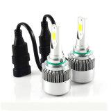 Lâmpada LED C6 9006 9005 Hb3 72W 7600lm Farol dianteiro automotivo para automóvel para luz de carro LED 6000k Farol LED COB