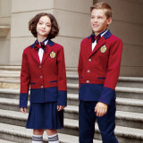 New Design Unisex Summer Long Sleeve School Uniform Chemises blanches