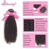 человеческих волос девственницы ранга 7A пачки курчавых волос малайзийских Kinky
