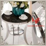 現代家具表(RS161304)のコーヒーテーブルのコーナー表のステンレス鋼の家具のホーム家具のホテルの家具のコンソールテーブルの茶表の側面表