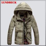 無地の冬のコートの方法人のジャケット