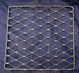 Maglia della corda del diamante dell'acciaio inossidabile per la costruzione di edifici