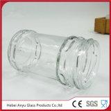 Choc en gros de conserves au vinaigre de verre à bouteilles en verre d'usine pour la nourriture avec le couvercle à visser de fer blanc