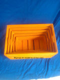 Цветастая прочная коробка деревянной клети деревянная с по-разному размерами
