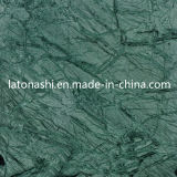 Tile、Slab、Countertop、Backplashのための磨かれたNatural Forest Green Marble