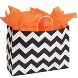 Medium Classic Chevron Paper Shopper