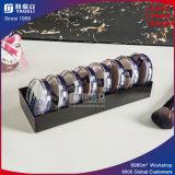 Support acrylique clair de mémoire de caisse de contrat de poudre