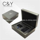 Черная деревянная коробка вахты с SGS