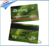 Tarjeta de identificación de PVC de tarjeta de crédito que hace la máquina