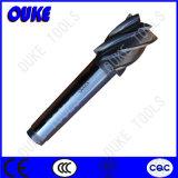 HSS Taper Shank Estremità Mill Cutter con 8 Flutes