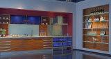 Hohe glatte Küche-UVmöbel (ZX-037)