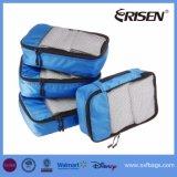 4部分のパッキング立方体旅行オルガナイザーの網袋旅行ギヤ袋のアクセサリ