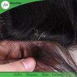 Encierro completo del cordón del encierro frontal brasileño del pelo del oído al oído con los frontales baratos del cordón del pelo 13X4 del bebé