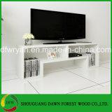 Het witte Kabinet van TV van het Kabinet van het Ontwerp van de Kleur Eenvoudige Goedkope Moderne