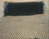 2inch PVC運動場のための上塗を施してあるチェーン・リンクの塀