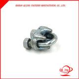 Clip de câble métallique de l'acier inoxydable DIN741 pour le câble métallique