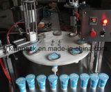 Enchimento do copo e máquina de embalagem giratórios automáticos da selagem para o suco