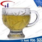 150ml comerciano la tazza all'ingrosso di caffè di vetro chiaramente incisa (CHM8176)