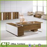 Bureau de gestionnaire de meubles de bureau de patte en métal de modèle moderne