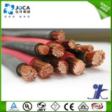 Обшитый Rubber/PVC медный кабель заварки 16mm2