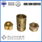 Parte de usinagem CNC com Material de Aço, Alumínio e Latão, bronze