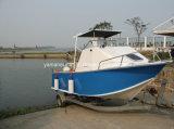 barco do alumínio de 5.8m com parte superior dura